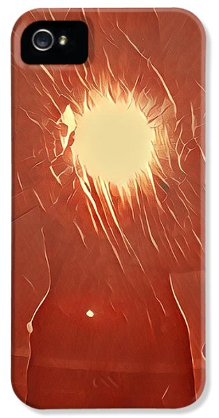 iPhone 5 Case - Catching Fire by Gina Callaghan