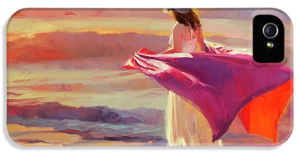 Pacific Ocean iPhone 5 Case - Catching The Breeze by Steve Henderson