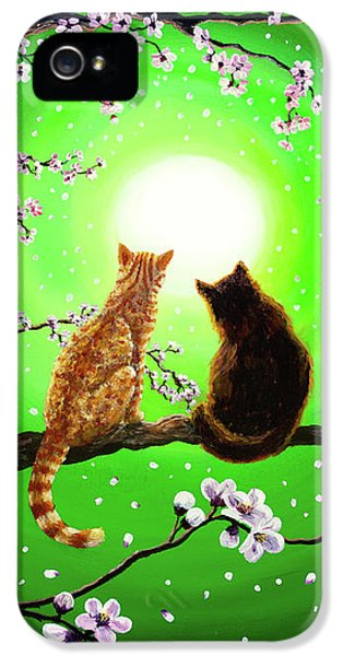 Cats On A Spring Night IPhone 5 Case