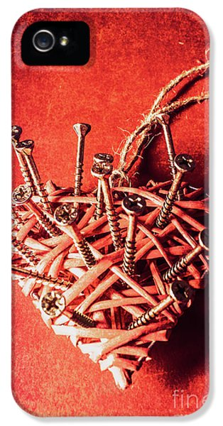 Cavities Of Love IPhone 5 Case by Jorgo Photography - Wall Art Gallery