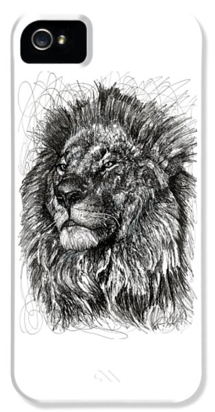 Cecil The Lion IPhone 5 / 5s Case by Michael Volpicelli