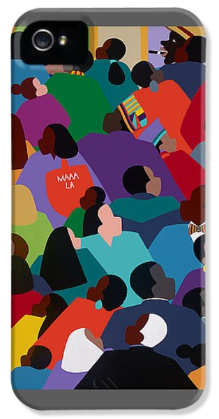 iPhone 5 Case - Celebration Maaa-la by Synthia SAINT JAMES