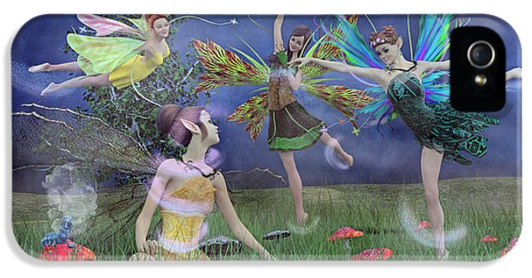 Celebration Of Night Alice And Oz IPhone 5 Case by Betsy Knapp