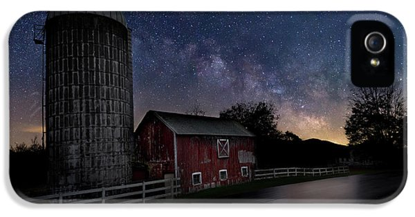 IPhone 5 Case featuring the photograph Celestial Farm by Bill Wakeley