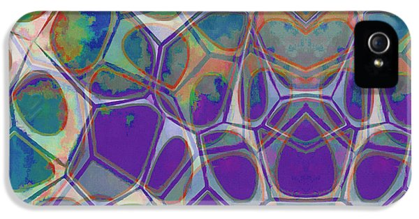 iPhone 5 Case - Cell Abstract 17 by Edward Fielding