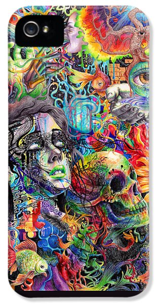 Cerebral Dysfunction IPhone 5 Case by Callie Fink