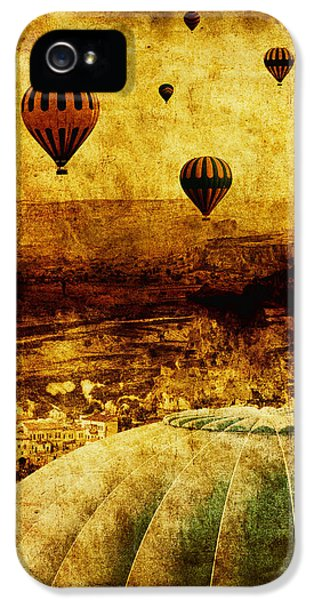Balloon iPhone 5 Cases - Cerebral Hemisphere iPhone 5 Case by Andrew Paranavitana