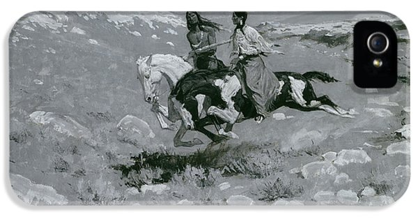 Ceremony Of The Fastest Horse IPhone 5 Case