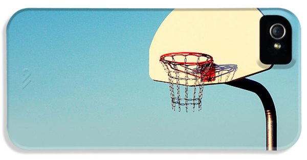 Basketball iPhone 5 Case - Chain Net by Todd Klassy