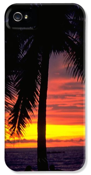 Champagne Sunset IPhone 5 Case by Travel Pics