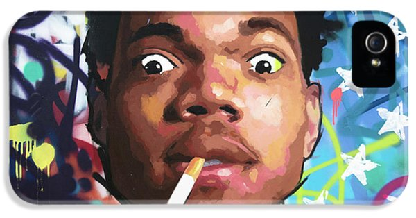 Chance The Rapper IPhone 5 Case by Richard Day