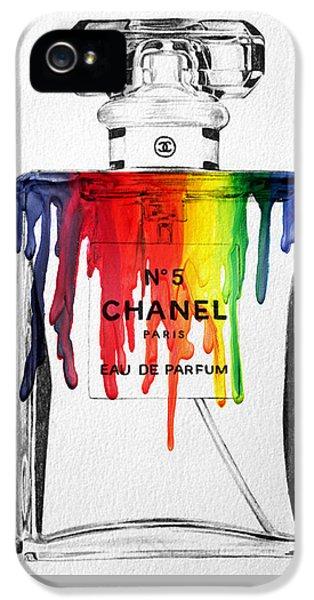 Chanel  IPhone 5 Case by Mark Ashkenazi