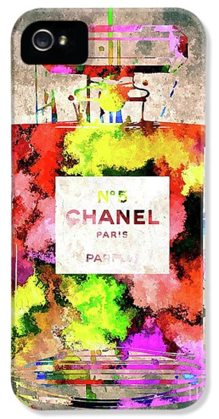 Chanel No 5 IPhone 5 Case