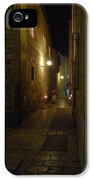 IPhone 5 Case featuring the photograph Chanukah At The Old City Of Jerusalem by Dubi Roman