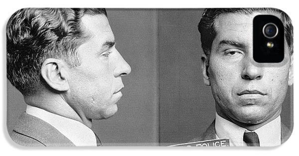 Charles Lucky Luciano IPhone 5 Case by Granger