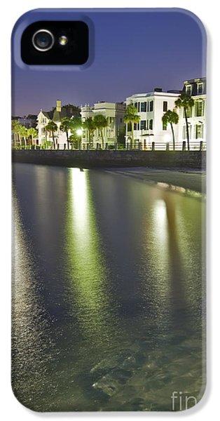 Charleston Battery Row At Dawn IPhone 5 Case by Dustin K Ryan