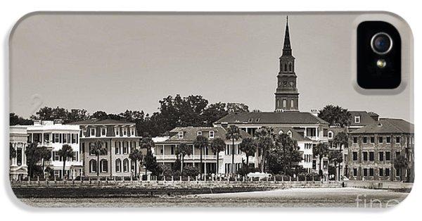 Charleston Battery South Carolina Sepia IPhone 5 Case by Dustin K Ryan