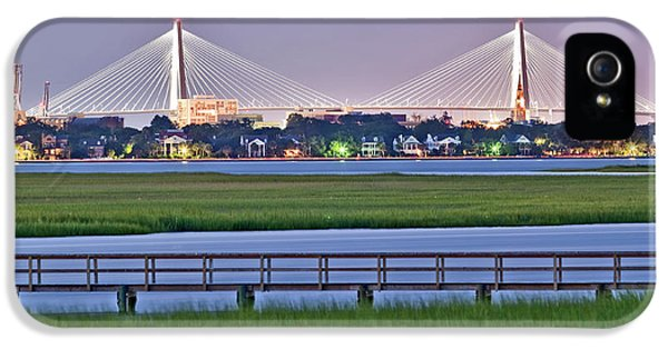 Charleston South Carolina Skyline IPhone 5 Case