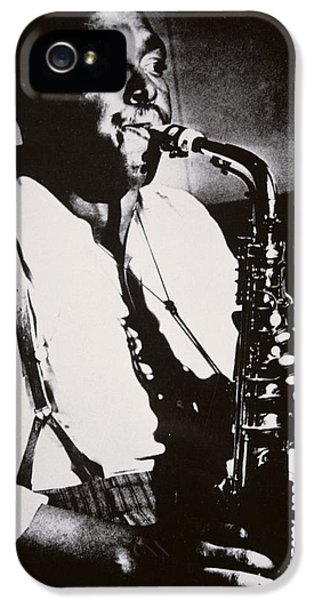 Saxophone iPhone 5 Case - Charlie Parker by American School