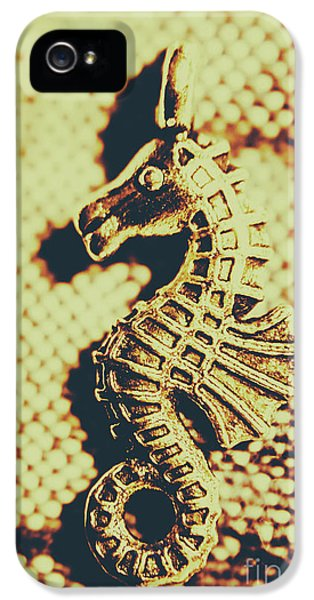 Pendant iPhone 5 Case - Charming Vintage Seahorse by Jorgo Photography - Wall Art Gallery
