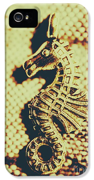 Seahorse iPhone 5 Case - Charming Vintage Seahorse by Jorgo Photography - Wall Art Gallery