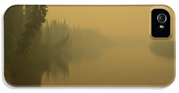 IPhone 5 Case featuring the photograph Chena River by Gary Lengyel