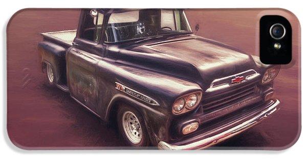 Truck iPhone 5 Case - Chevrolet Apache Pickup by Scott Norris