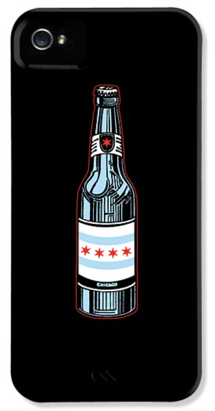 Chicago Beer IPhone 5 Case by Mike Lopez