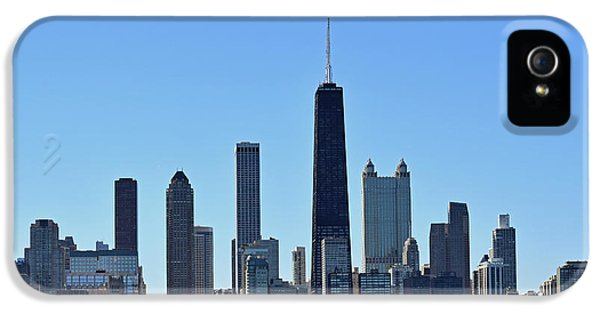Chicago Skyline No. 1 IPhone 5 Case by Sandy Taylor