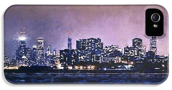 Chicago Skyline From Evanston IPhone 5 / 5s Case by Scott Norris