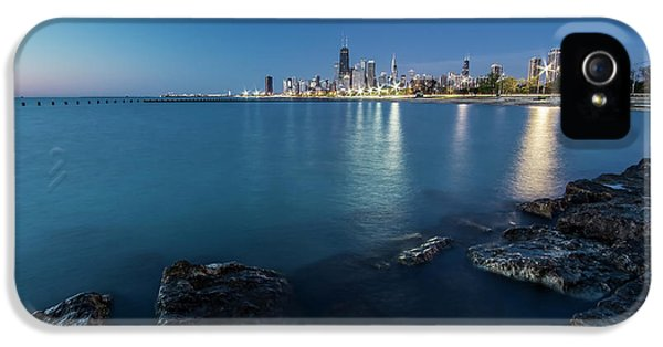 Chicago's Lakefront And Skyline At Dawn  IPhone 5 Case
