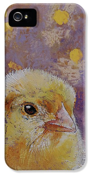 Chicken iPhone 5 Case - Chick by Michael Creese