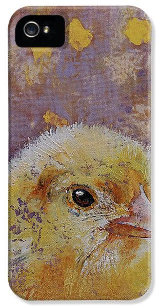 Chick IPhone 5 Case by Michael Creese