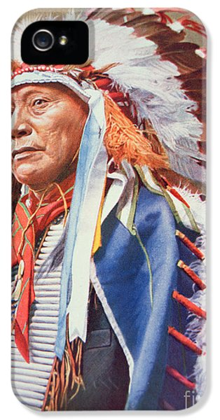 Chief Hollow Horn Bear IPhone 5 Case