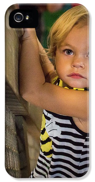 IPhone 5 Case featuring the photograph Child In The Light by Bill Pevlor