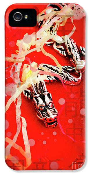 Dragon iPhone 5 Case - Chinese New Year Background by Jorgo Photography - Wall Art Gallery
