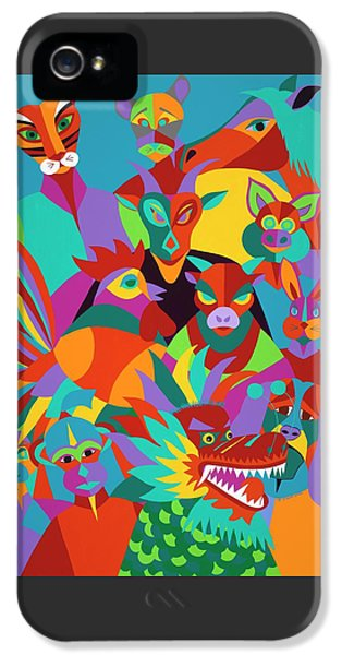 iPhone 5 Case - Chinese New Year by Synthia SAINT JAMES