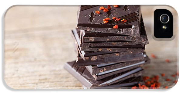 Chocolate And Chili IPhone 5 Case by Nailia Schwarz