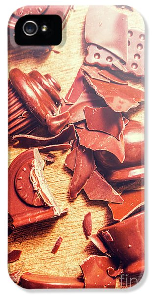 Chocolate Tableware Destruction IPhone 5 Case by Jorgo Photography - Wall Art Gallery