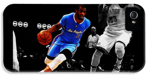 Chris Paul IPhone 5 Case by Brian Reaves