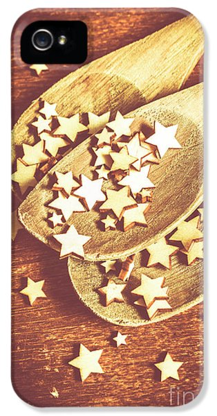 Christmas Baking Background IPhone 5 Case by Jorgo Photography - Wall Art Gallery
