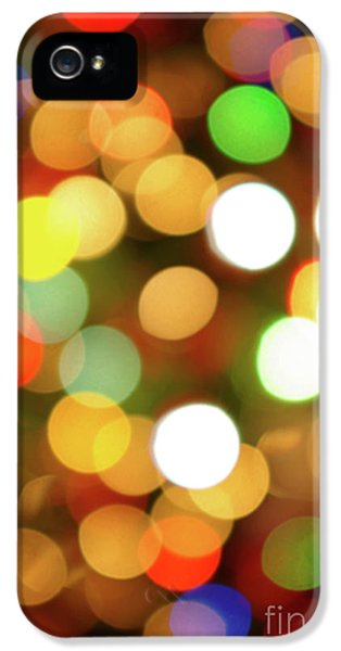 Wish iPhone 5 Cases - Christmas Lights iPhone 5 Case by Carlos Caetano