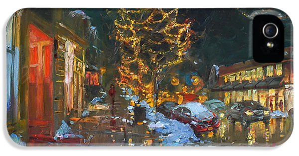 Christmas Reflections IPhone 5 Case by Ylli Haruni