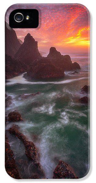 Christmas Sunset IPhone 5 Case by Darren White