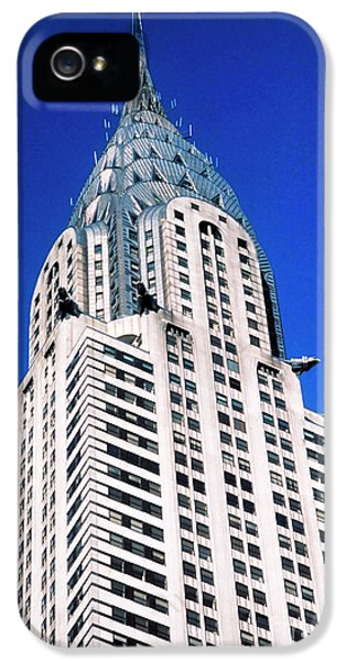 Chrysler Building IPhone 5 Case by John Greim