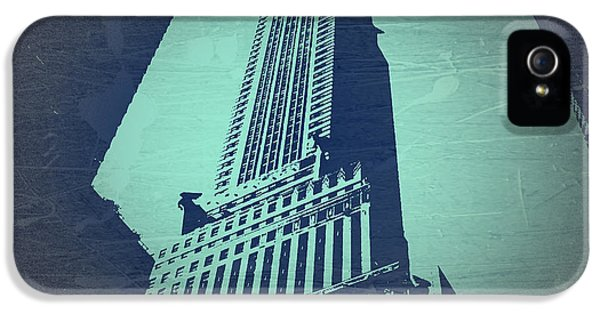 Chrysler Building  IPhone 5 / 5s Case by Naxart Studio