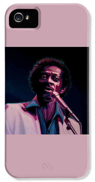 Chuck Berry IPhone 5 Case by Paul Meijering