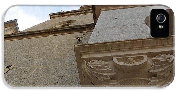 Detail iPhone 5 Case - Church Facade Detail by Vineta Marinovic