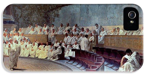 Cicero IPhone 5 Case by Cesare Maccari