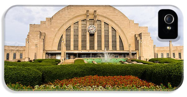 Cincinnati Museum Center At Union Terminal IPhone 5 Case by Paul Velgos